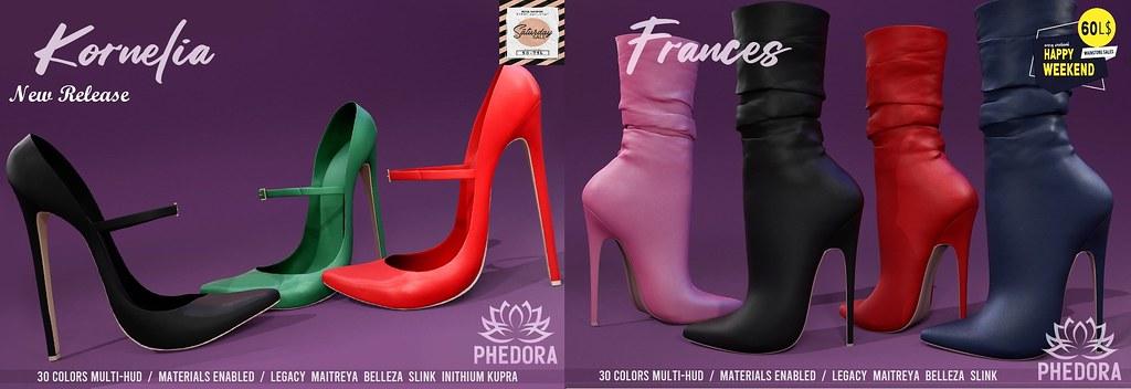 Phedora Weekend Sales + NEW MAINSTORE RELEASE!!! ♥ Feb 6th 2021