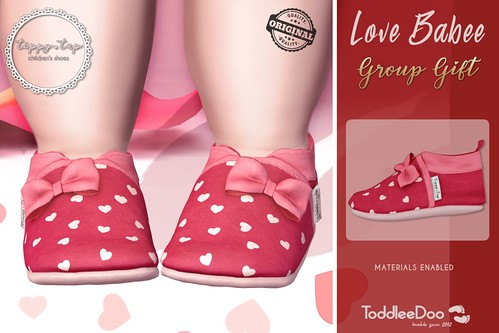 Tippy Tap NEW GROUP GIFT Babee - First steps shoes - LOVE ♥