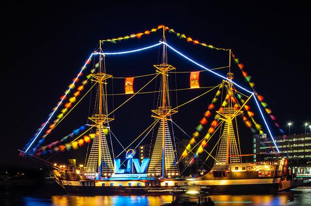Super Bowl LV Jose Gaspar Pirate Ship