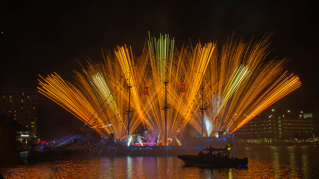 Super Bowl LV Fireworks