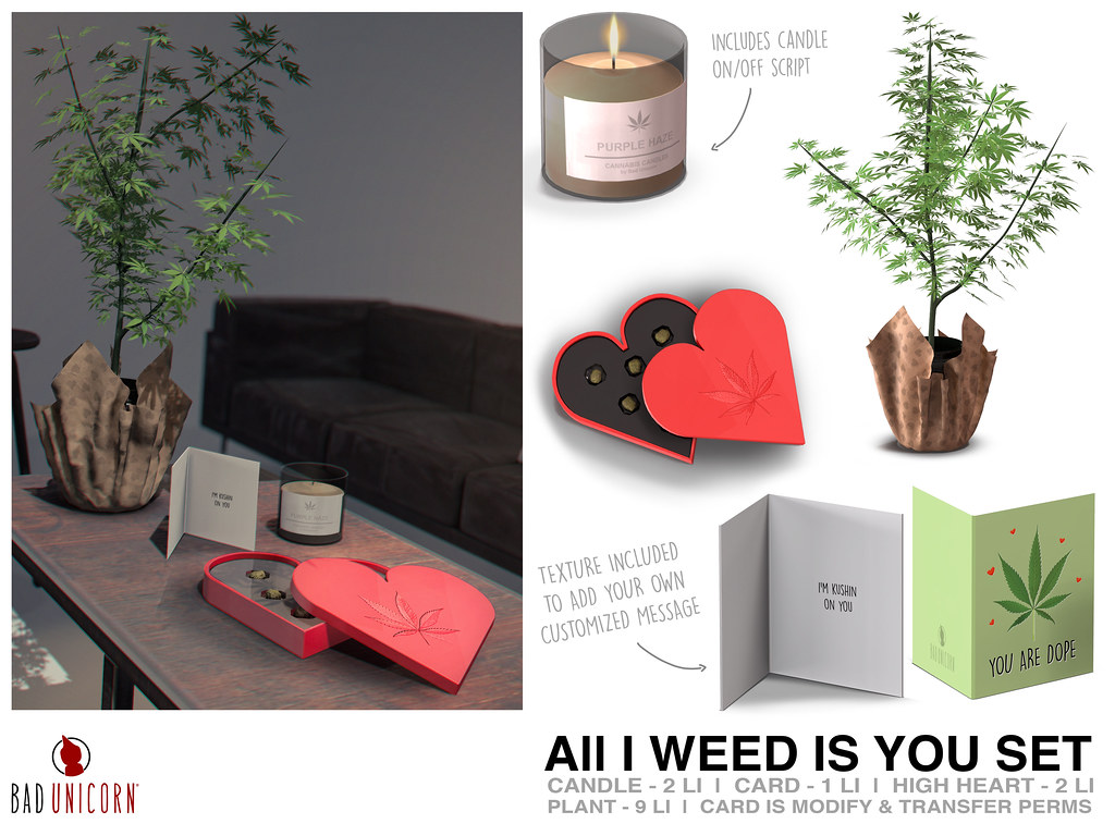 NEW! All I Weed Is You @ TMD