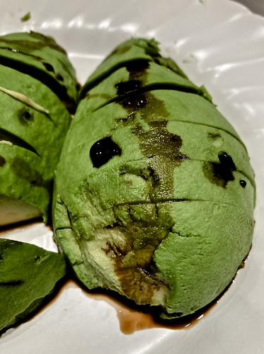 inhabited avocado