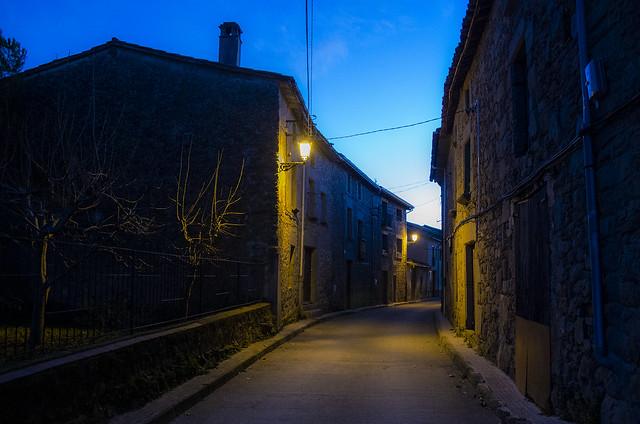 La fosca nit / Dark yet welcoming night