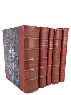 British auction catalogues from the library of Leonard Forrer
