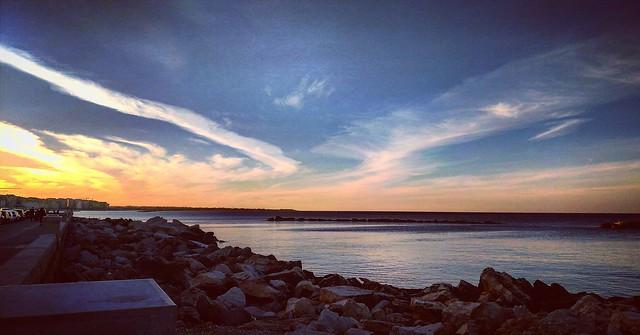 When the sun kisses the sea