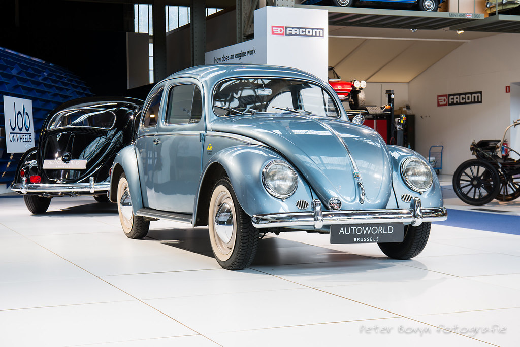Volkswagen Käfer Ovali De Luxe - 1955