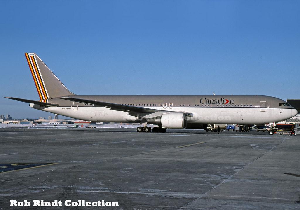 Canadian Airlines B767-38E/ER C-GDUZ