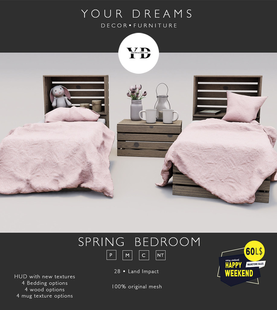 {YD} Spring Bedroom