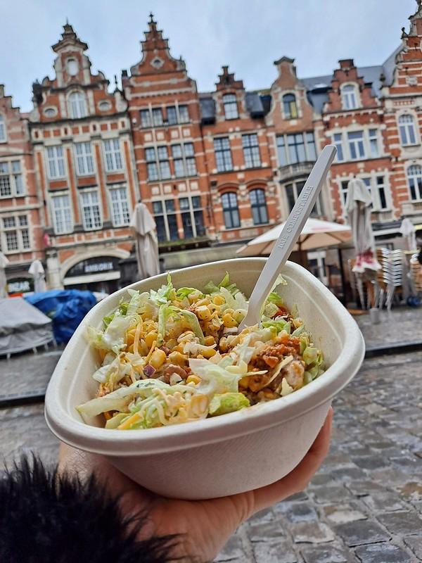 Comida para llevar Bruselas
