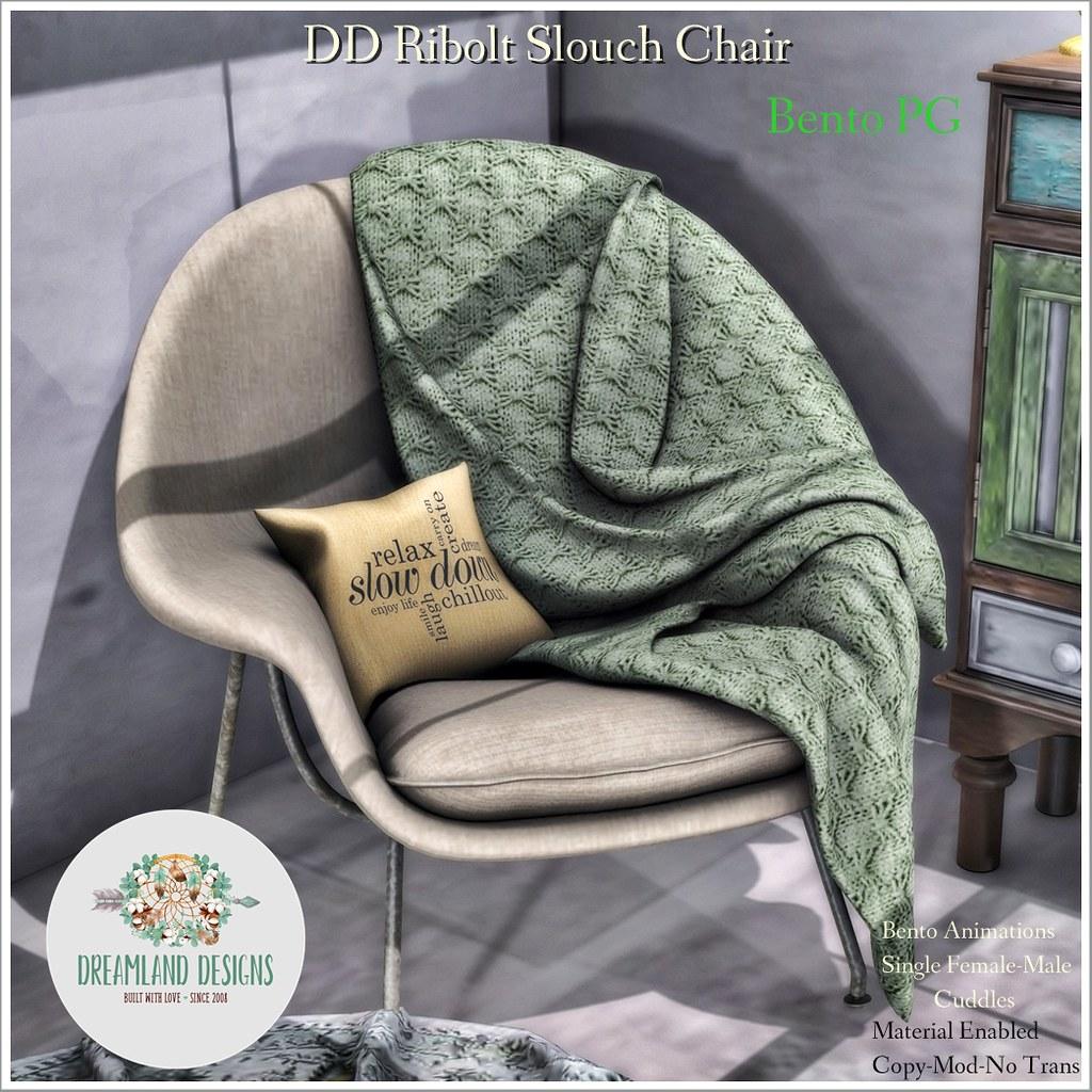 DD Ribolt Slouch Chair-PG