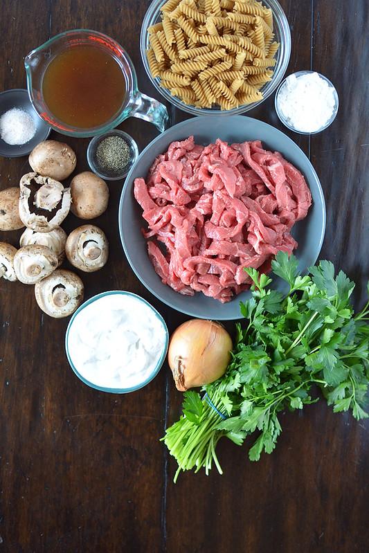 Paleo Beef Stroganoff {gluten-free, Whole30, Keto}