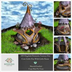 DD Dagobah Romantic Fantasy Hut AD