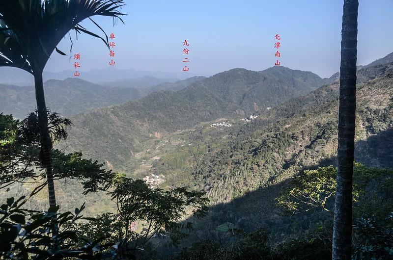竹墓山產道西北展望 (2)