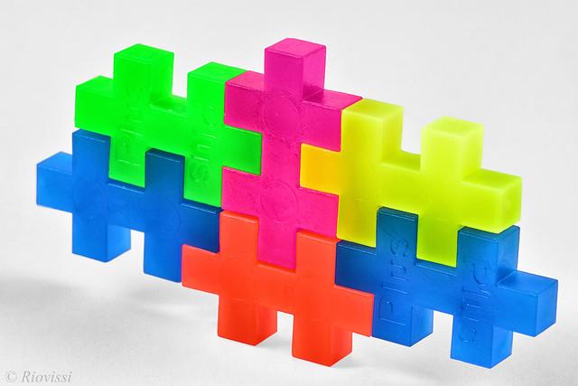 Vibrant Puzzle Pieces