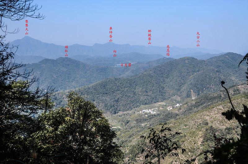 竹墓山山徑西北遠眺 1-1
