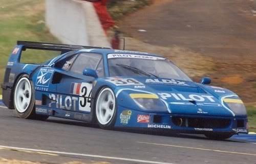 Ferrari F40 LM – Le Mans 1995