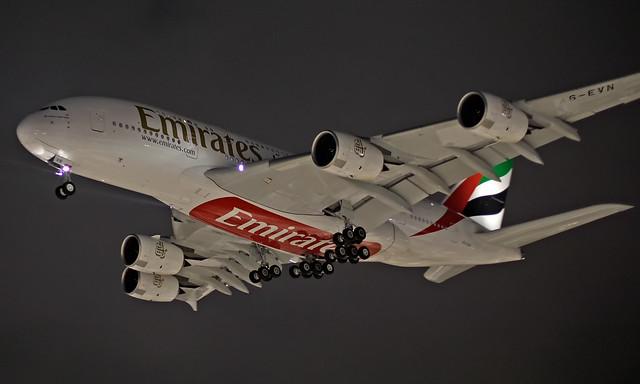 A6-EVN - Airbus A380-842 - LHR