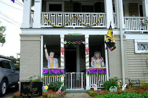 Drew Brees Krewe of House Floats 2021. Photo by Michele Goldfarb.