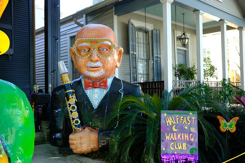 Pete Fountain and Half-Fast Walking Club - Krewe of House Floats 2021. Photo by Michele Goldfarb.