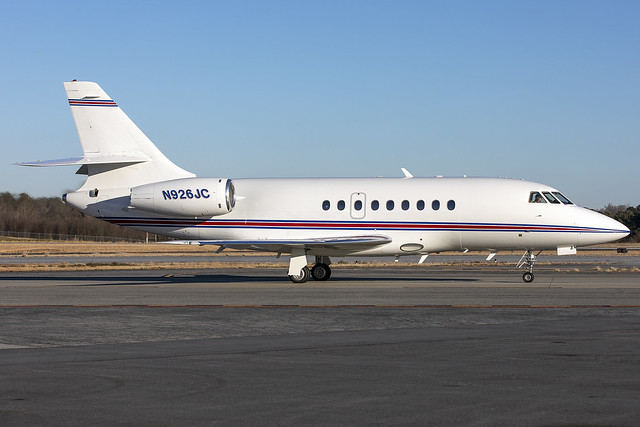 N926JC - Dassault Falcon 2000  - KPDK - Feb 2021