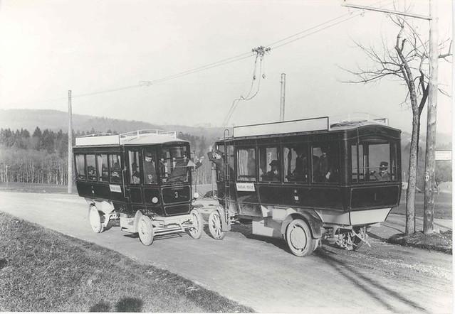 Trolleybus de Fribourg (Suisse)