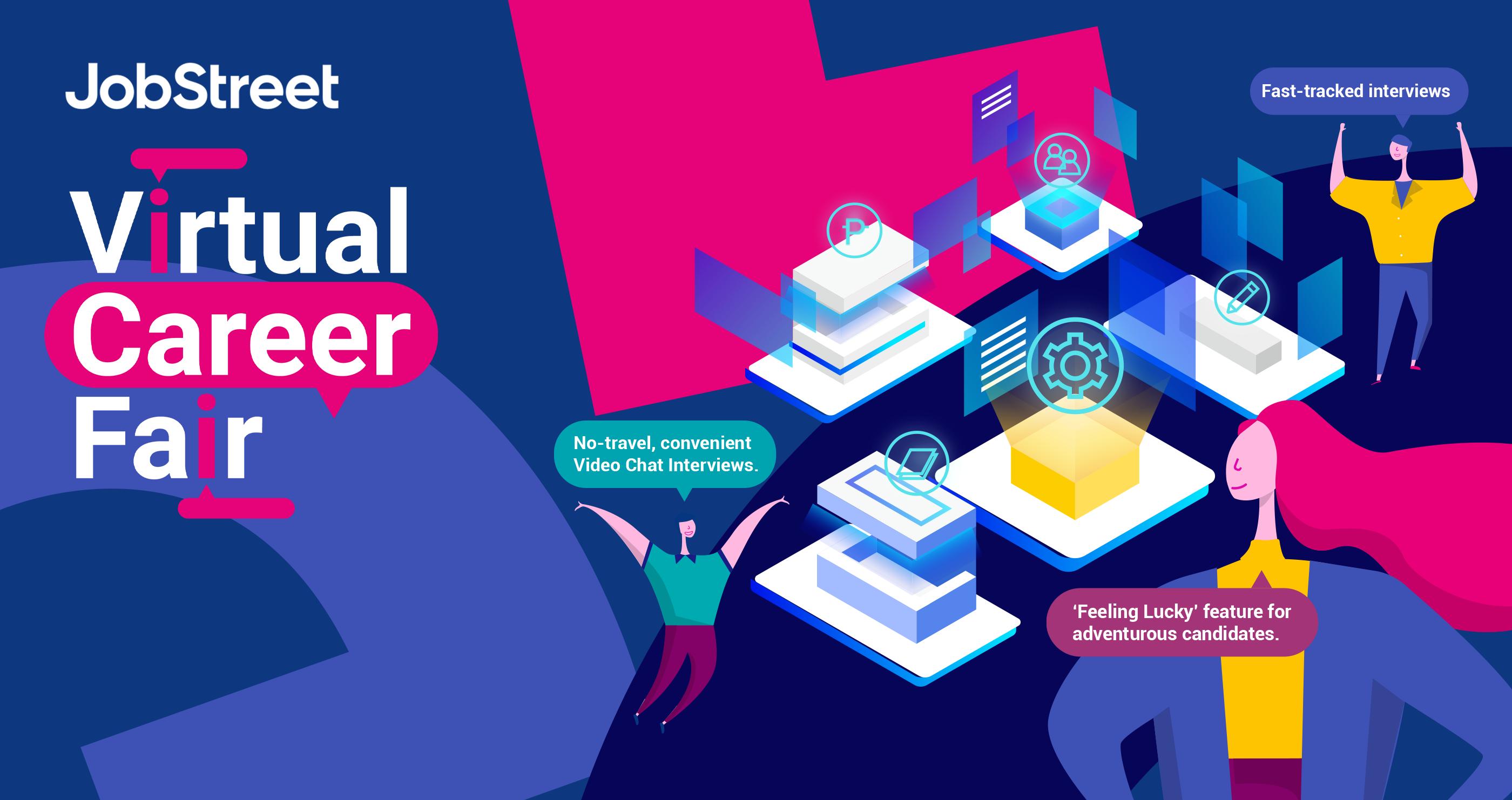 JobStreet's Virtual Career Fair 2021