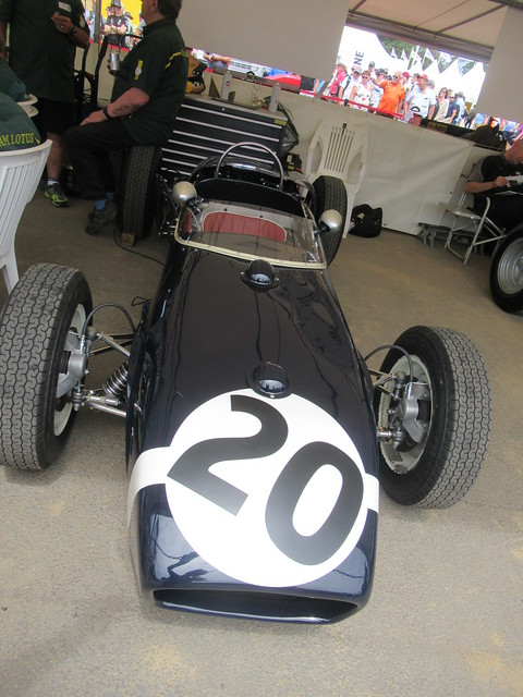 Lotus-Climax 18 2.5-litre Four-Cylinder 1960, Masters of Monaco, Speed Kings, Motorsport's Record Breakers, Goodwood Festival of Speed (2)