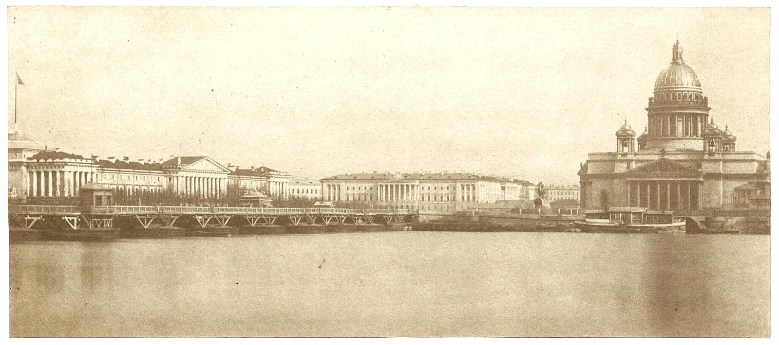 Сенатская площадь. 1850-е (до 1855)