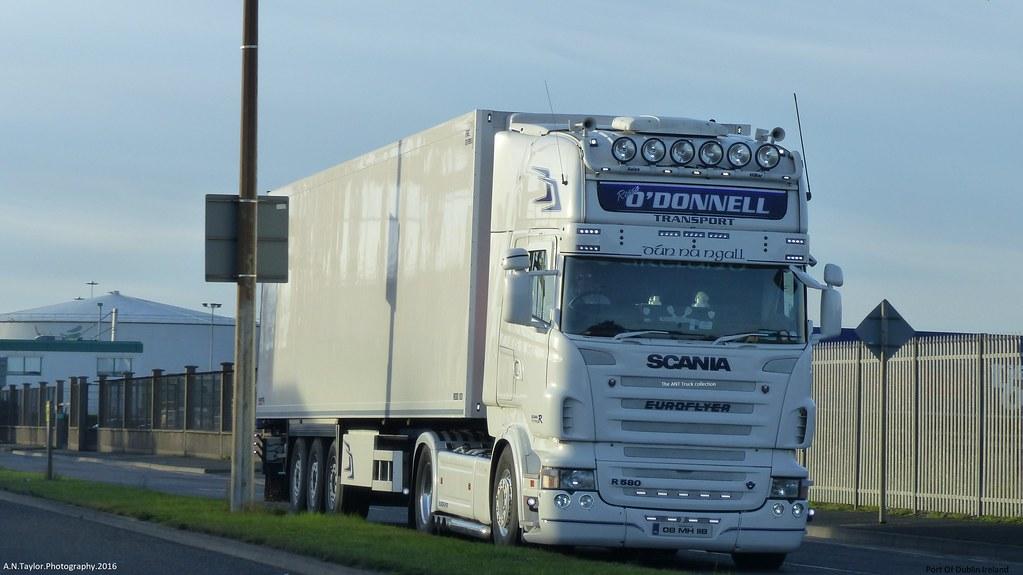 Scania R580 Topline V8 08-MN-118 2008 Rassa O Donnell Transport Port Of Dublin