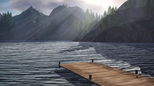 Lake Sunrays