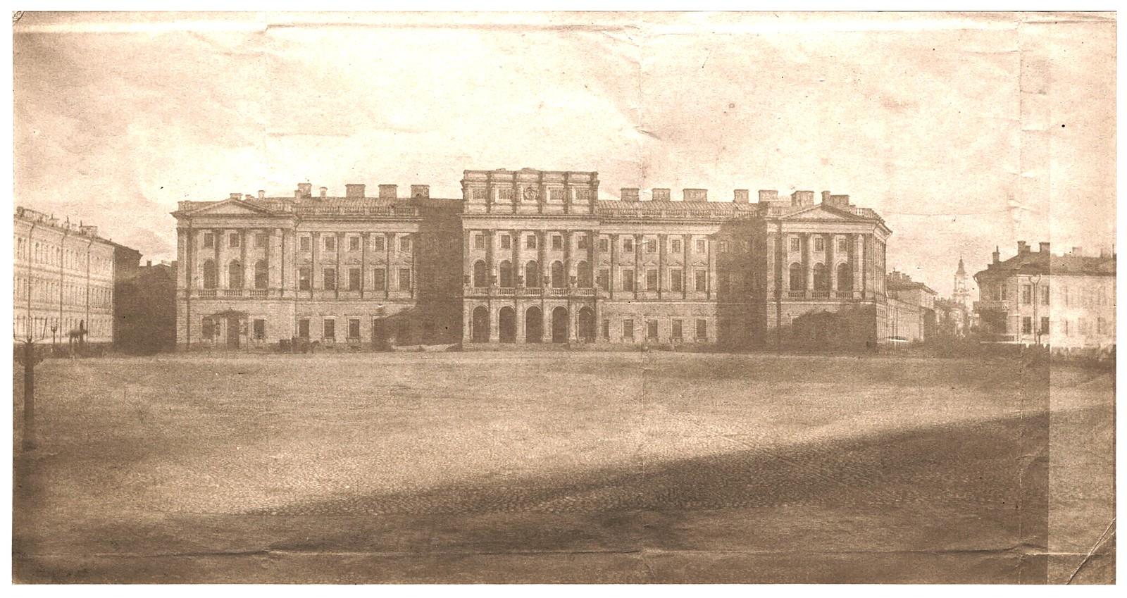 Дворец Великой княгини Марии Николаевны (Мариинский дворец). 1853