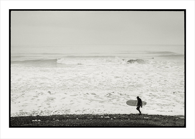 Winter Surf. Cromer, Norfolk.