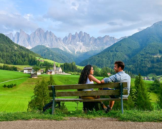 Val di Funes en Dolomitas