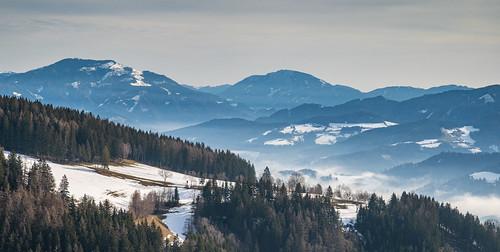 austria leoben location schnee steiermark winter