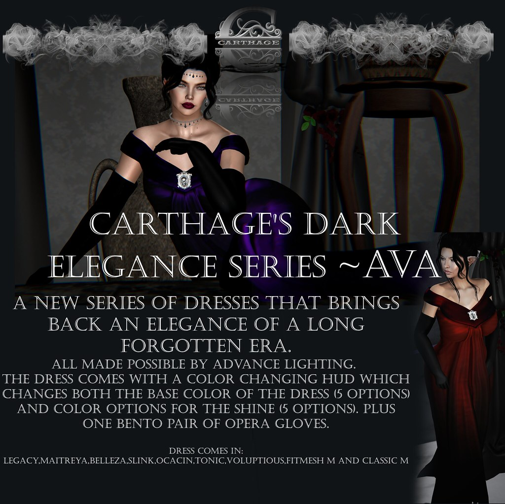 Carthage Dark Elegance series~ Ava