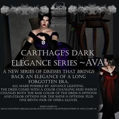 Carthage Dark Elegance series~ Ava