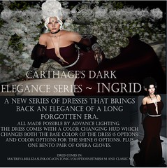 Carthage Dark Elegance series~ Ingrid