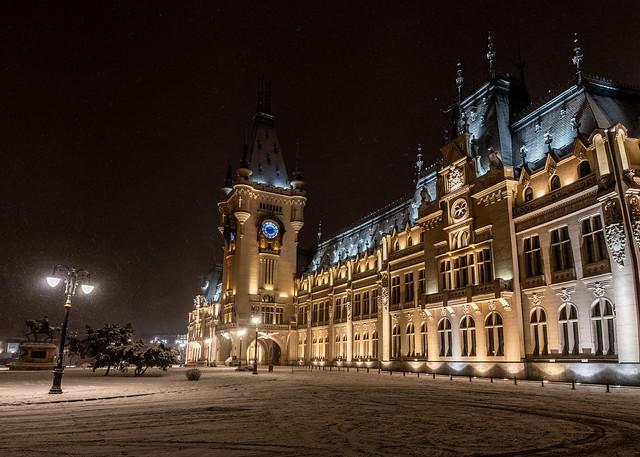 Winter in Iași