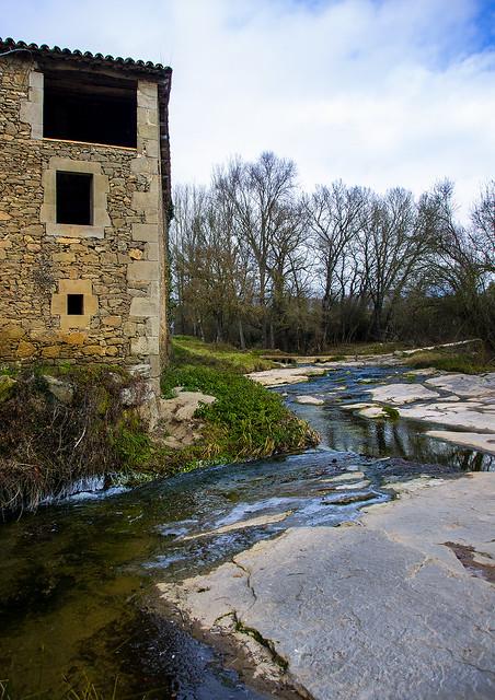 Llepant els peus del molí / A stream at it's feet