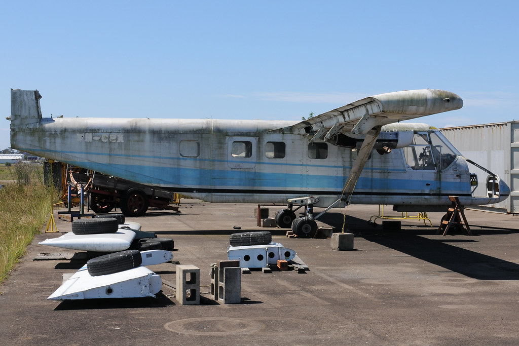 GAF N22B Nomad VH-CPX, Australian Aviation Museum, Bankstown, NSW, Australia.