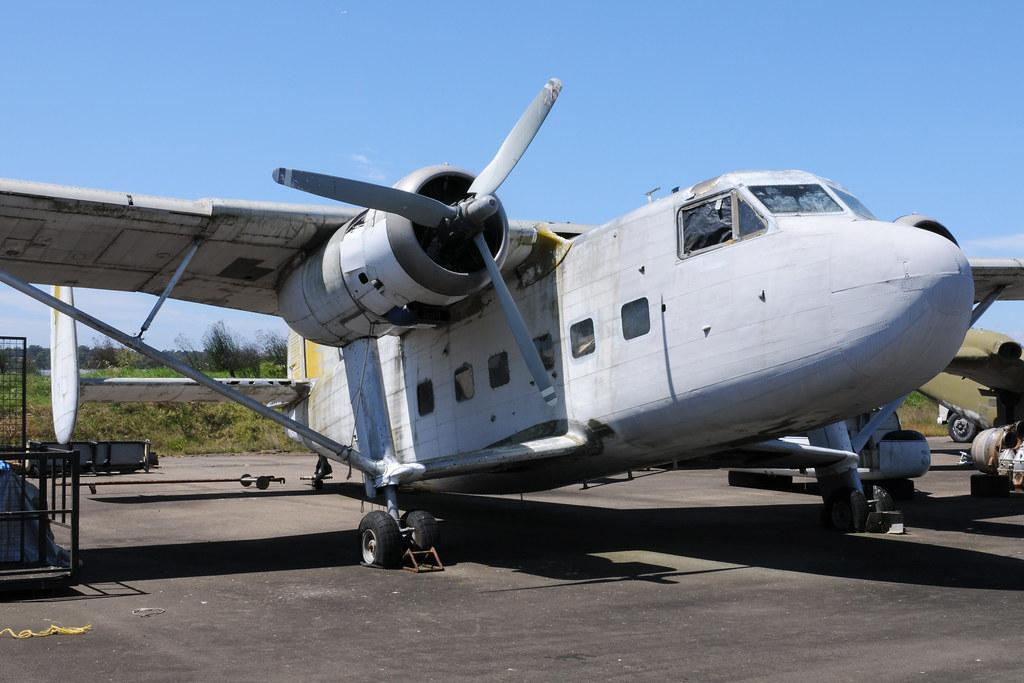 Scottish Aviation Twin Pioneer 9M-RMU, Australian aviation Museum, Bankstown, NSW, Australia.