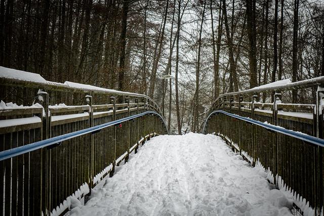 Wintereinbruch Münsterland