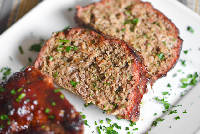 Dr Pepper-glazed Planked Meatloaf