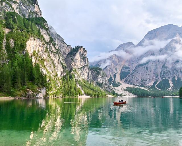 Itinerario de viaje por los Dolomitas italianos