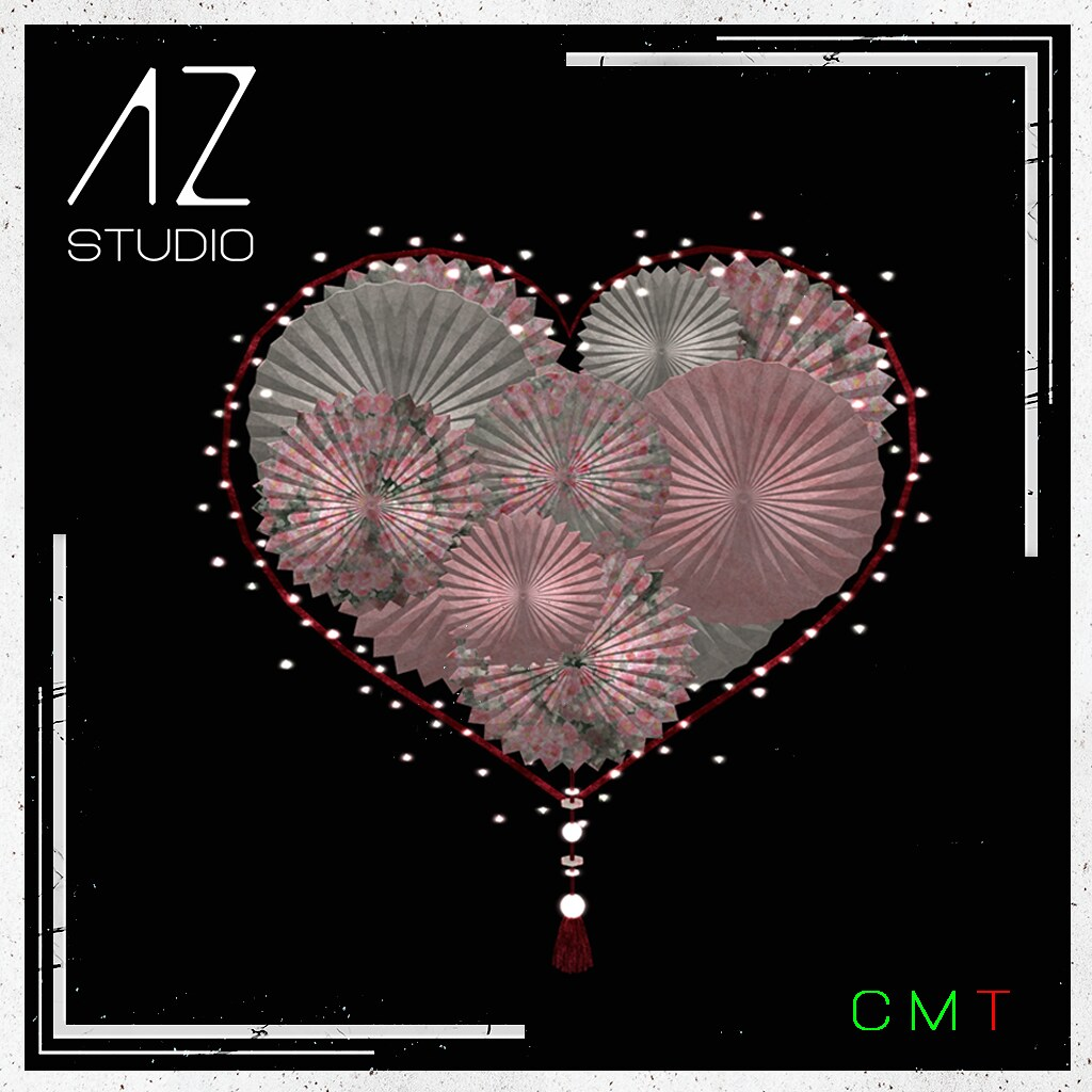 [AZ] STUDIO at Swank event February 2021 New Exclusive Release. Heart Wreath part of my Celebrate LOVE collection.
