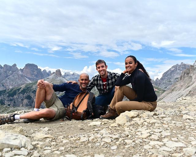 Rutas de senderismo por Dolomitas