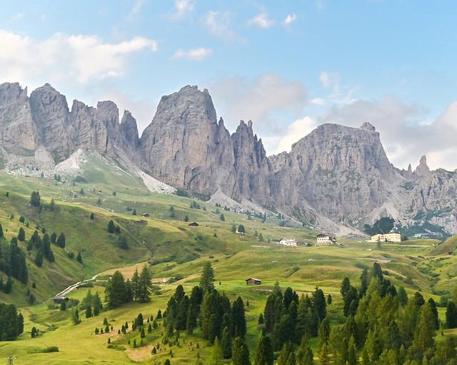Montañas del paso del sella