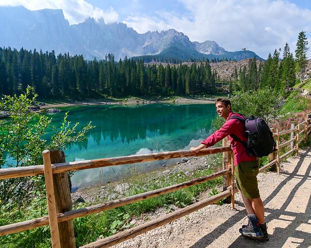 Lago Carezza, el lago más bonito de Dolomitas