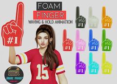 Junk Food - Foam Fingers All