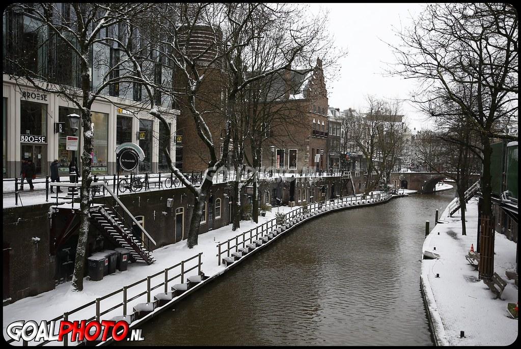 Sneeuw in Utrecht 07-02-2021